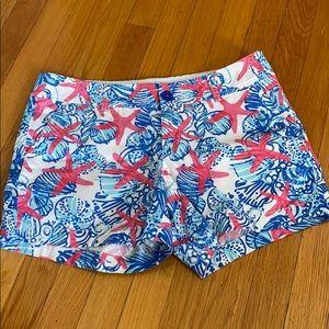 [Lilly Pulitzer] She She Shells Callahan Shorts